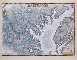Baltimore Art Print & Poster