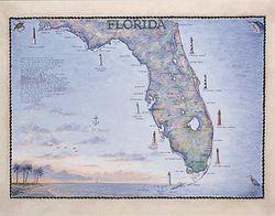 Florida Art Print & Poster