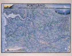 Portland Art Print & Poster