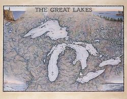 Great Lakes Art Print & Poster