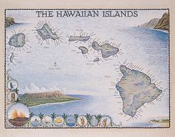 Hawaiian Islands Art Print & Poster
