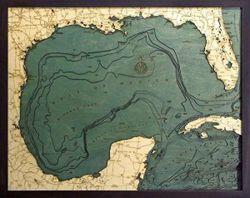 Gulf of Mexico Woodchart
