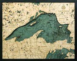 Lake Superior Woodchart