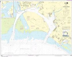 Nautical Chart 19367 - Honolulu Harbor