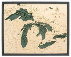 Great Lakes Woodchart