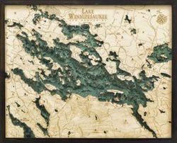 Lake Winnipesaukee Woodchart