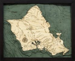 Oahu Woodchart