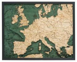 Western Europe Woodchart