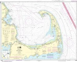 Nautical Chart 13246 Cape Cod
