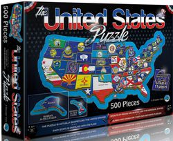 United States Jigsaw Puzzle by A Broader View