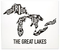 Great Lakes Type Map