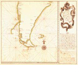 Antique Map of Argentina 1760