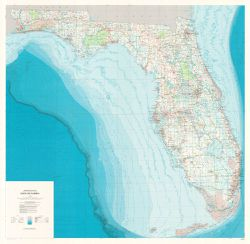 Florida Base Map by USGS