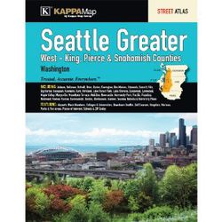 Seattle & West King/Pierce/Snohomish County Street Atlas