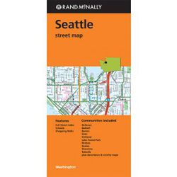 Seattle Map by Rand McNally