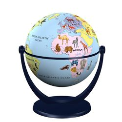 Junior 1 Mini Globe with Animals - 4