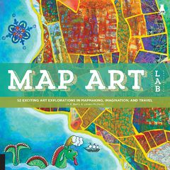 Map Art Lab by Jill K. Berry