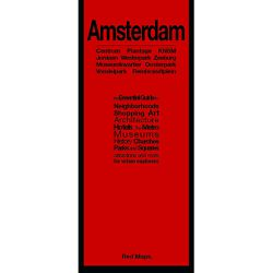 Amsterdam Red Map