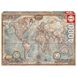 World Map Puzzle World Map Jigsaw Puzzle 4000 Piece