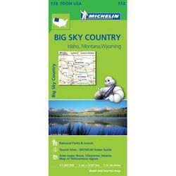 Big Sky Country Regional Map by Michelin - ID, MT, WY