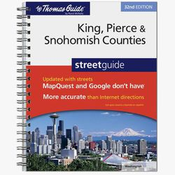 King/Pierce/Snohomish County Street Guide