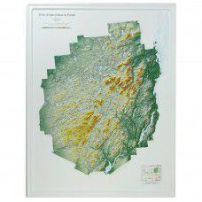 Adirondack Park Raised Relief Map