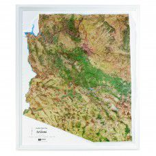 Arizona Raised Relief Map
