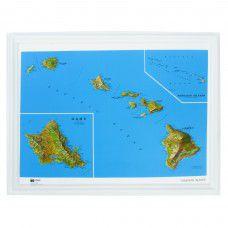 Hawaii Raised Relief Map