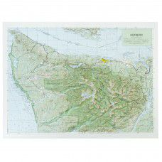 Olympic National Park Raised Relief Map
