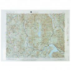 Sandpoint Raised Relief Map