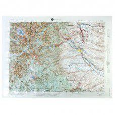 Yakima Raised Relief Map