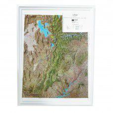 Utah Raised Relief Map
