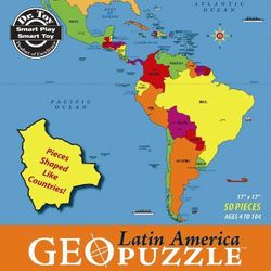 Latin America GeoPuzzle