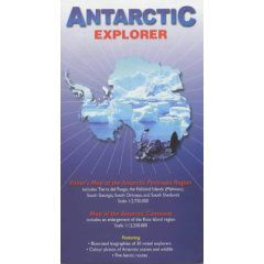 Antarctic Explorer by Ocean Explorer Maps