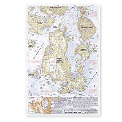 Kayaking Maps for Puget Sound, San Juans, Barclay Sound by SeaTrails - Choose from the List