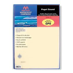 Puget Sound Chartbook by Maptech