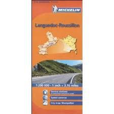 Languedoc-Roussillon Regional Map, 526 by Michelin