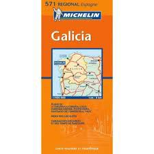Galicia - NW Spain Travel Map by Michelin