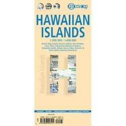 Hawaiian Islands Travel Map by Borch