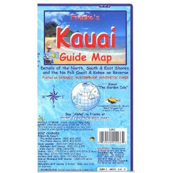 Kauai Guide Map by Franko