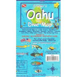 Oahu Dive Map by Franko