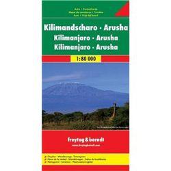 Kilimanjaro & Arusha Map by Freytag & Berndt