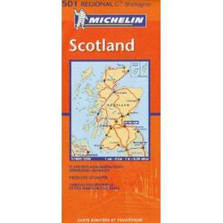 Scotland Travel Map by Michelin