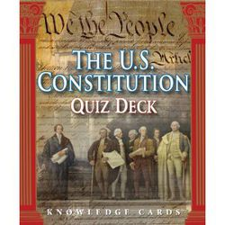 US Constitution Knowledge Cards