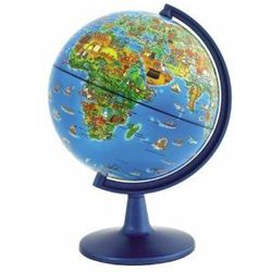 Illustrated Mini World Globe for Kids - 6