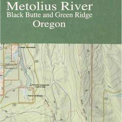 Metolius River Hiking Map - OR