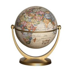 Miniature World Globe - Antique