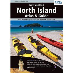 New Zealand North Island Touring Atlas by Hema