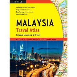 Malaysia Road Atlas by Periplus