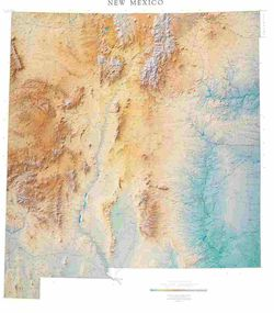 New Mexico Wall Map l Raven Maps